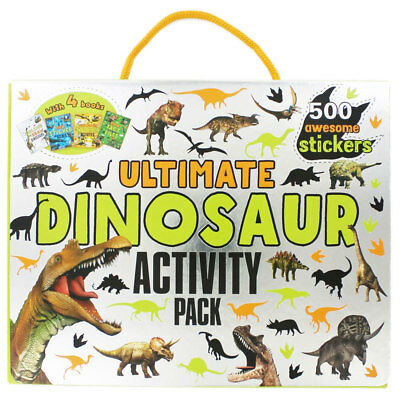 Ultimate Dinosaur Activity Pack by Parragon (Paperback), Children's Books, New