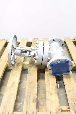 New Newco 16F-Cb2 3 In 600 Steel Flanged Wedge Gate Valve D579952