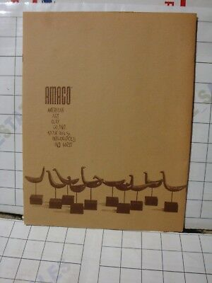 AMACO American Art Clay Indianapolis IN portfolio folder catalog brochure pages