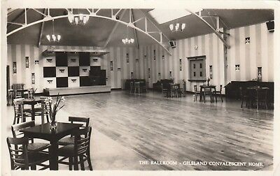 Cumberland, Gilsland, Convalescent Home, The Ballroom.