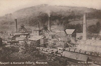 Monmouthshire, Abercarne  Newport & Abercarne Colliery.