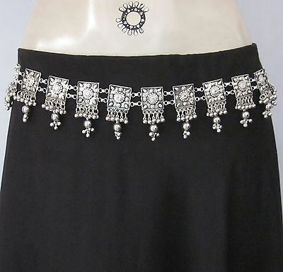 Handcrafted Metal Chain BELT Women Fashion Vintage Boho Gypsy Goth Punk One Size