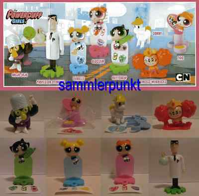 NEU***Komplettsatz THE POWERPUFF GIRLS + 8 BPZ***NEU