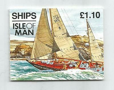 Isle Of Man 1993 £1.10 Ships Booklet Sb32