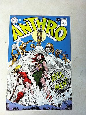 ANTHRO #2 COVER ART, original approval cover proof 1960'S APES OR MEN, POST!!