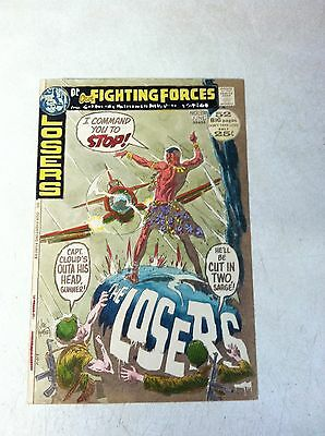 OUR FIGHTING FORCES #137 original hand colored cover art 1970'S WAR, THE LOSERS
