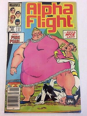 Alpha Flight #22 Comic Book Marvel 1985