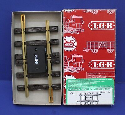 LGB 1015 T G Scale Insulated Track 150mm New in Box West Germany