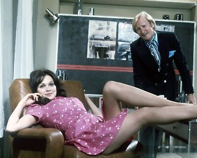 """Madeline Smith / Leslie phillips 10"""" x 8"""" Photograph no 98"""