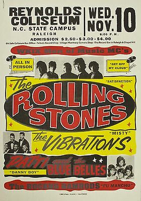 """Rolling Stones Reynolds 16"""" x 12"""" Photo Repro Concert Poster"""