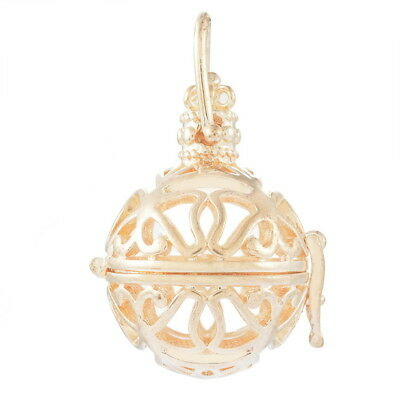 1PC Pendants Hollow Engrave Butterfly   Magic Box Gold Plated