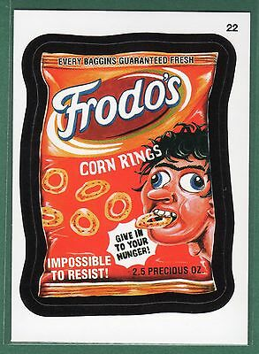 2015 Wacky Packages #22 FRODO'S