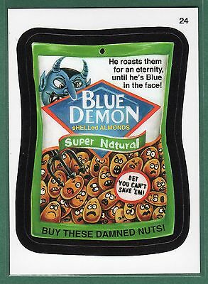 2015 Wacky Packages #24 BLUE DEMON
