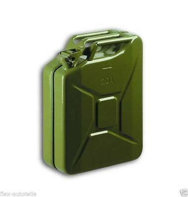 20L Canister Tin Reserve Canister Metal Canisters Fuel Tank