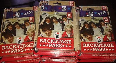 Lot Revendeur 28 Kit Backstage Pass Vip 1D One Direction Neufs Sous Blister