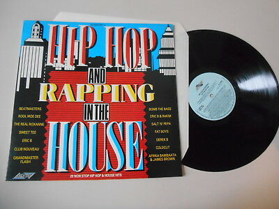LP VA Hip Hop And Rapping In The House (20 Song) STYLUS REC / UK