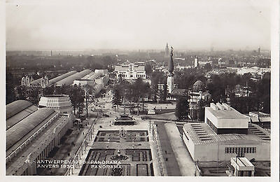 Panorama Exposition Internationale 1930 ANVERS Belgique Carte Postale Photo