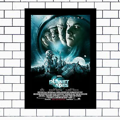 Planet Of The Apes R1 - A3 / A4 - Framed Or Unframed Poster