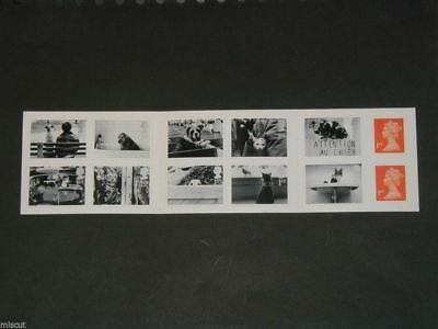 PM1 Cats and Dogs Booklet, 12x1st  + INSET LB (Scarce)