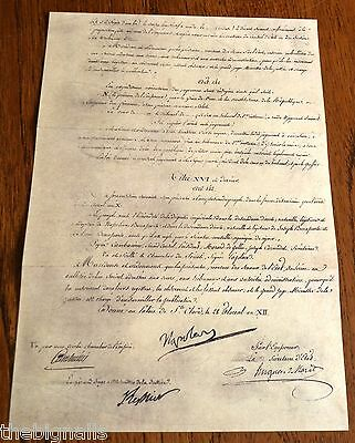 1804 Napoleon The Title Deed of Empire