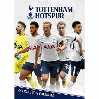 2018 A3 Official Tottenham Hotspurs Fc Calendar, Spurs Football Wall Calender