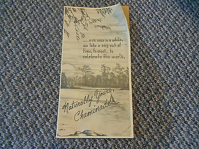 '75 Program Naturally Yours Chaminade Appleton Wisconsin Concert Lawrence Chapel