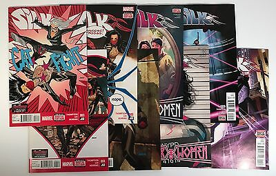 Silk Comic Book 8 Issue Run Lot #3-9,11, Marvel 2015/2016