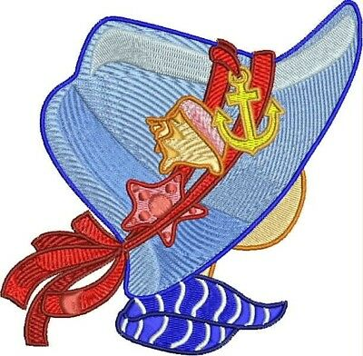 Summer Sunbonnets 10 Machine Embroidery Designs Cd 2 Sizes