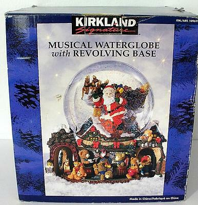 Kirkland Signature Musical Water Globe With Revolving Base - New In The Box