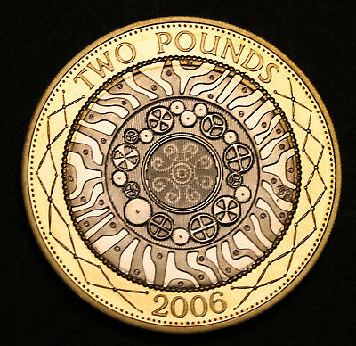 2006 UK Great Britain Technology 2 Pounds GEM Proof FDC Coin