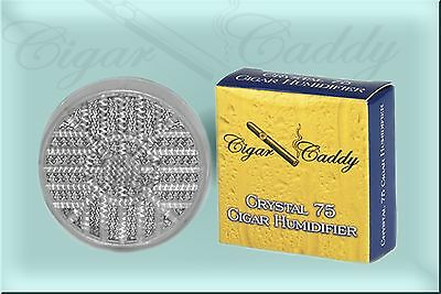 Cigar Caddy - Round Crystal 75 Humidifier