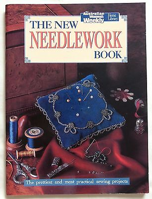 Australian Weekly The New Needlework Book Embroidery Cross Stitch ++ 1991