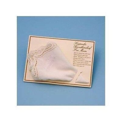 Mother of the Bride Hankie Handkerchief Wedding Mother of the Bride Gifts Ivory