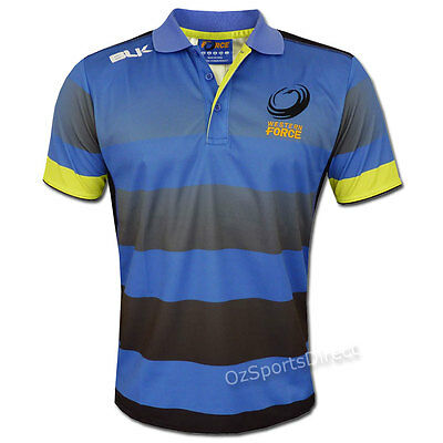 Western Force 2016 Training Polo  Sizes S - 3XL