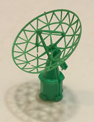 R&l Cereal Toy ~ Space Age 1969 ~ Radar Dish, Green ~Very Rare ~Aussie Kelloggs