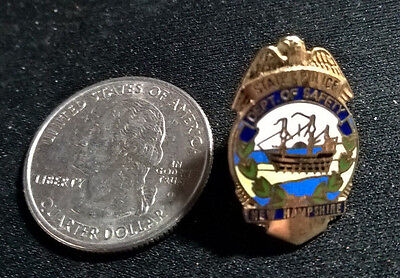 State Police ~ Dept Of Safety ~ New Hampshire ~ Mini Badge ~ New