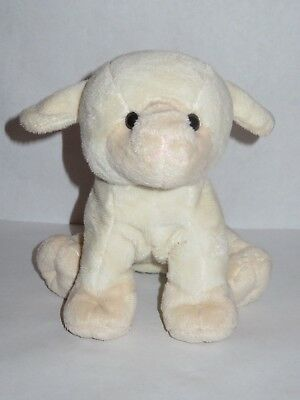 9 Commonwealth Plush Lamb Stuffed Animal Baby Toy Cream Off White