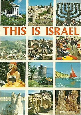 This Is Israel by Sylvia Mann - Pictorial Guide and Souvenir Book