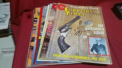 1963 Full Year SHOOTING TIMES Magazine Smith Wesson Colt Winchester Nice! #81