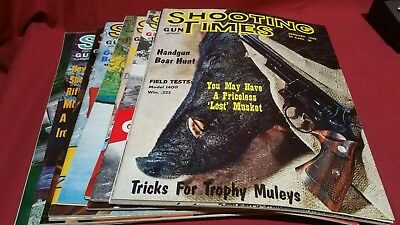1965 Full Year SHOOTING TIMES Magazine Smith Wesson Colt Winchester Nice! #85