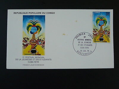 youth and students festival FDC Congo 1978