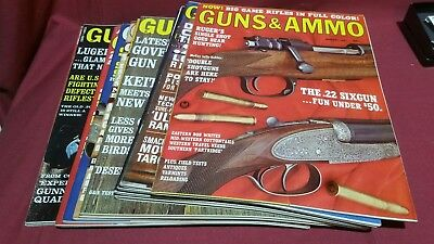 1967 Full Year GUNS & AMMO Magazine Smith Wesson Colt Winchester Ruger Nice! #90