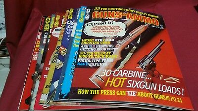 1970 Full Year GUNS & AMMO Magazine Smith Wesson Colt Winchester Ruger Nice! #93