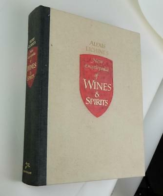 Alexis Lichine's new Encyclepdia of Wines and Spirits 1974