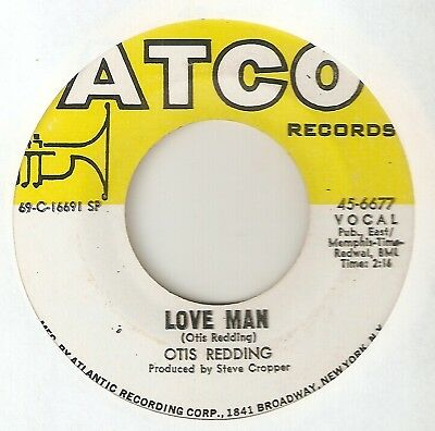 OTIS REDDING Love Man Cant Turn You Loose ATCO  NORTHERN SOUL 45