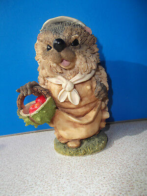 """Lovely Vintage Collectable Hedgies * Langford 1996 * """"millicent"""" * Hand Painted"""