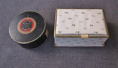 Vintage Argentinian Max Factors Hollywood & Artez Westerly Powder Boxex Poudre