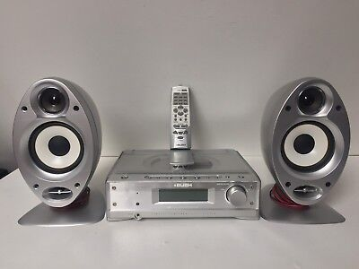 Bush LSD40 CD RADIO AUX Compact Component Audio Shelf Hi-Fi System
