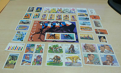 USPS 1996 year set Mint NH OG total 58 stamps