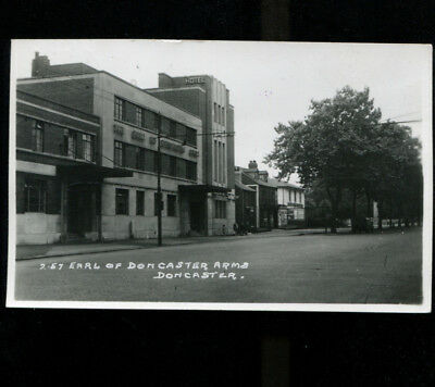 Earl of Doncaster Arms Pub/ Hotel RP Postcard